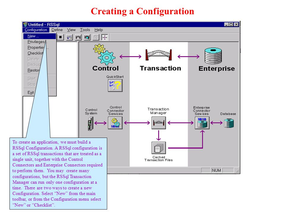 Creating a Configuration
