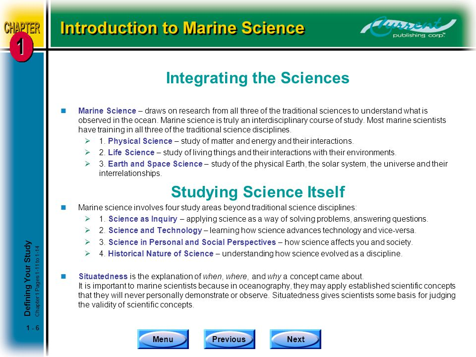Integrating the Sciences