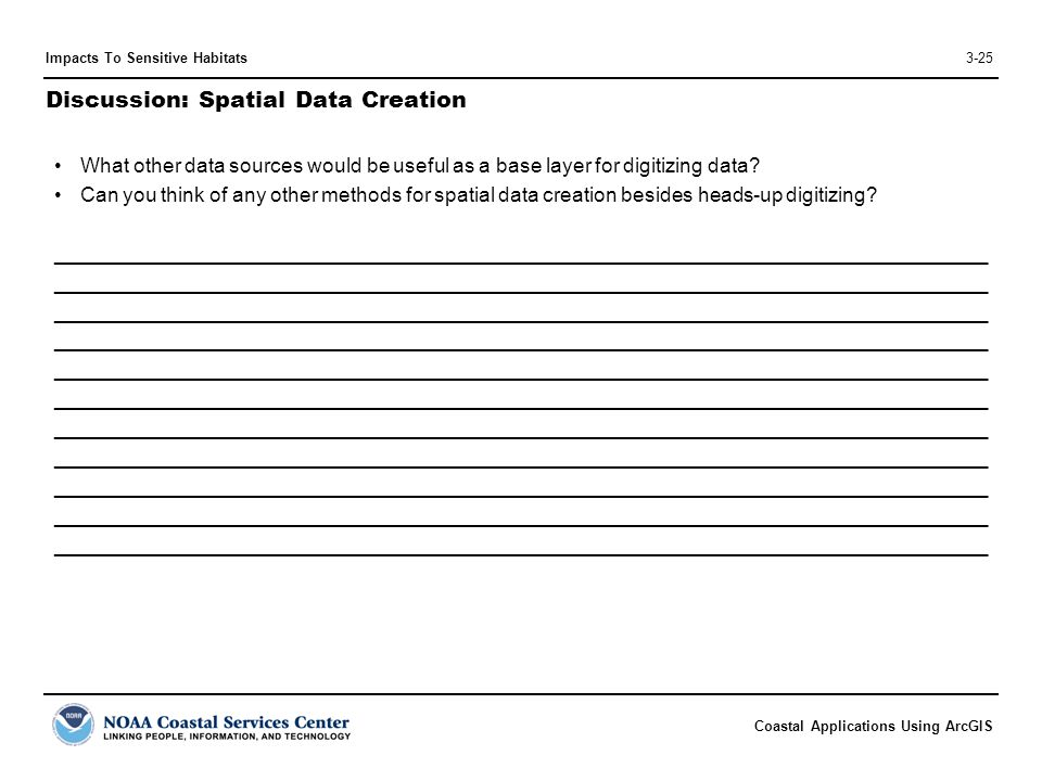 Discussion: Spatial Data Creation