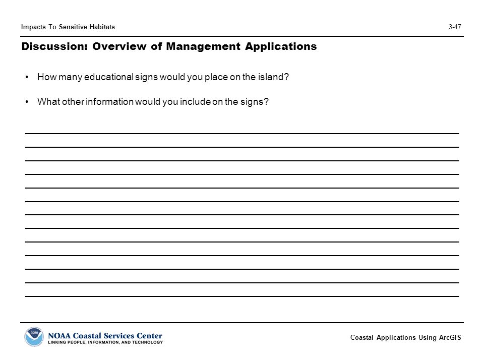 Discussion: Overview of Management Applications
