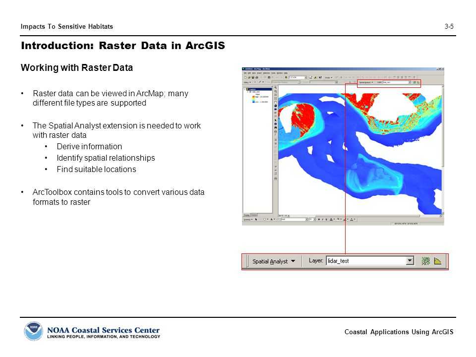 Introduction: Raster Data in ArcGIS