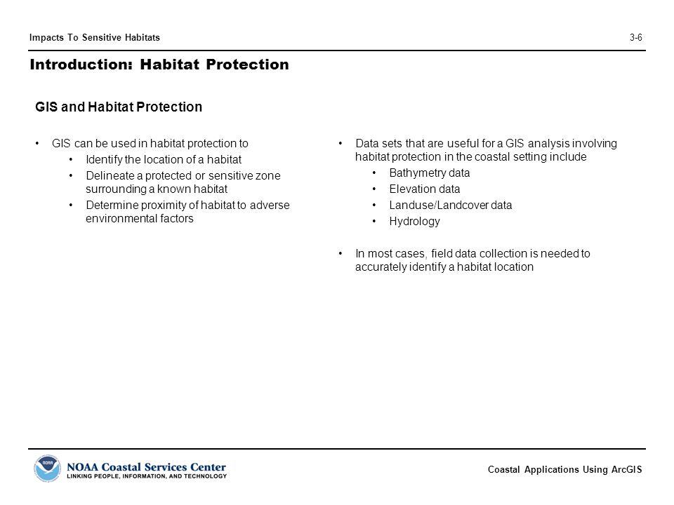 Introduction: Habitat Protection