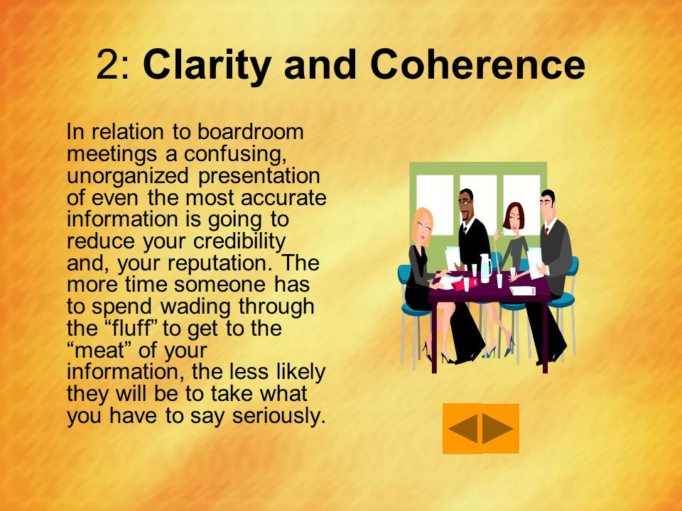 2: Clarity and Coherence
