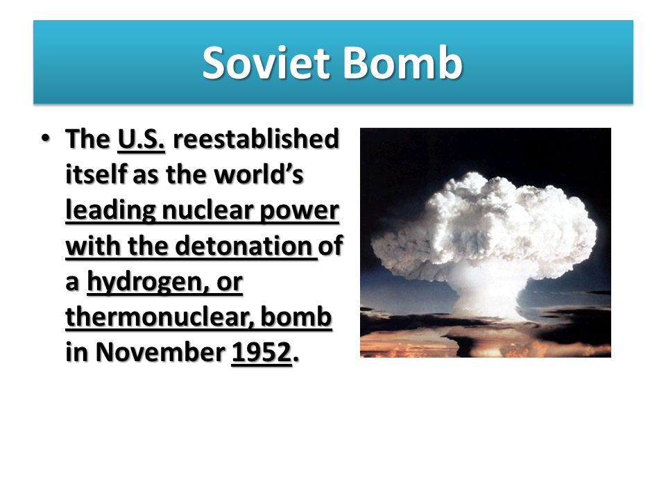 Soviet Bomb