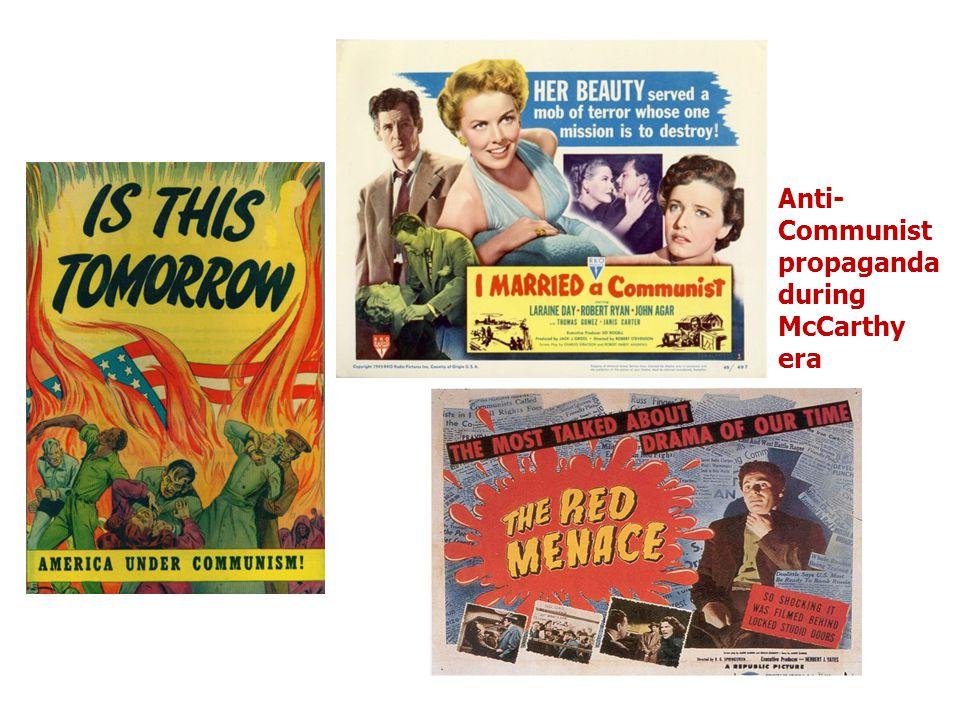 Anti-Communist propaganda during McCarthy era