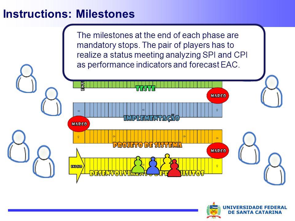 Instructions: Milestones