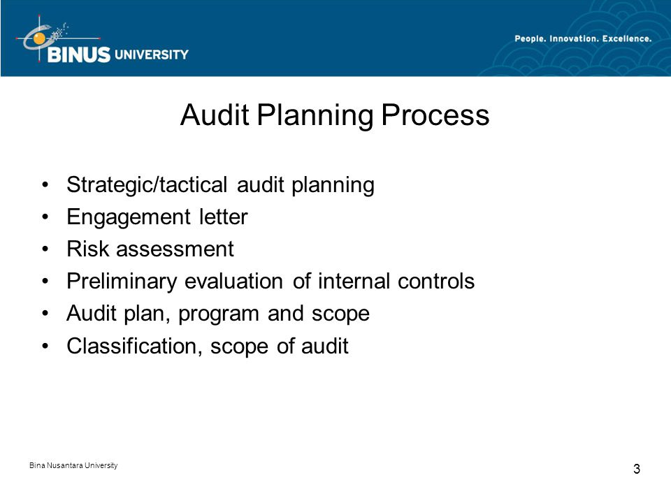 Audit Planning Process
