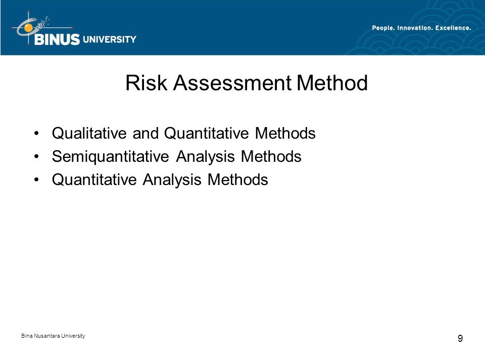 Risk Assessment Method