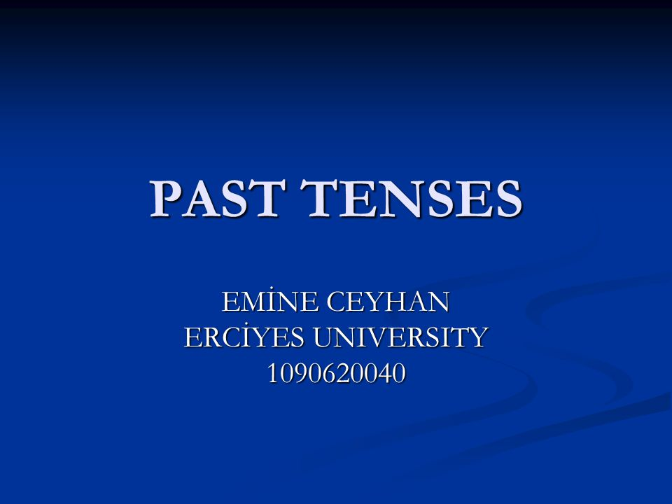 EMİNE CEYHAN ERCİYES UNIVERSITY 1090620040