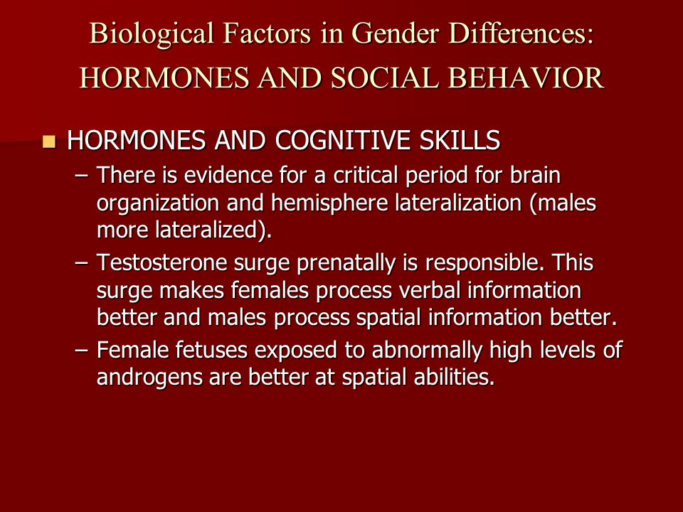 biological influences on gender What causes a person to be transgender this question was originally answered  on quora by jane chin.