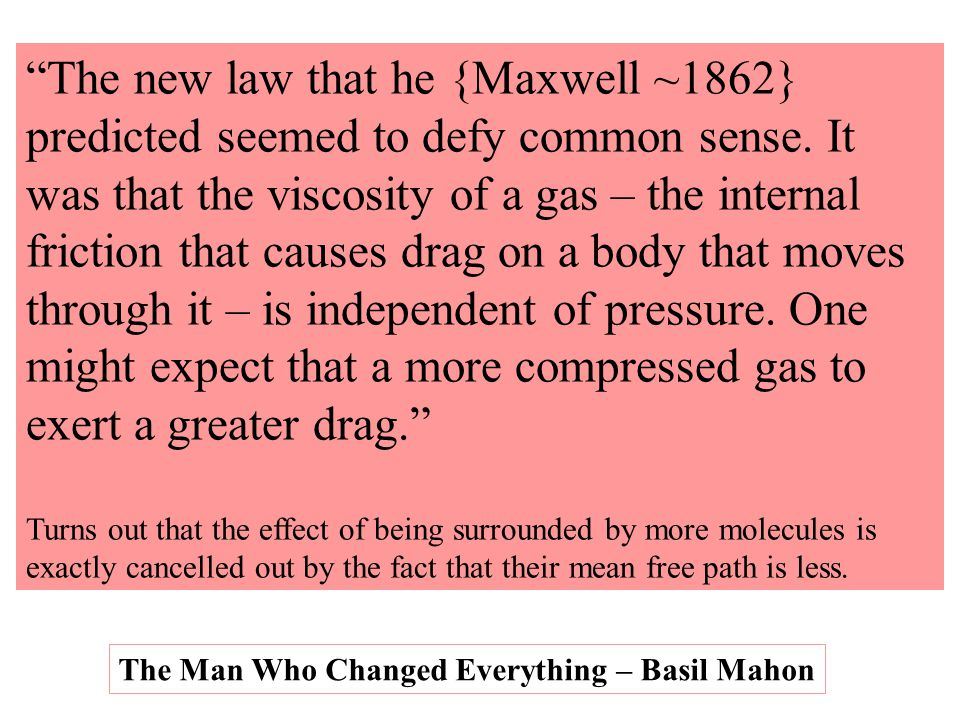 The new law that he {Maxwell ~1862}