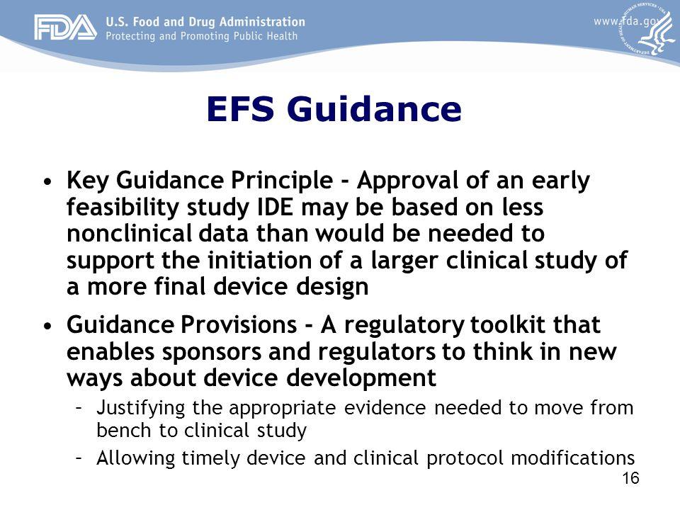 EFS Guidance