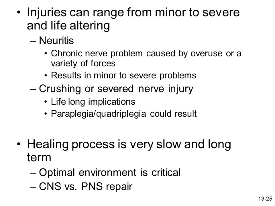 Injuries can range from minor to severe and life altering
