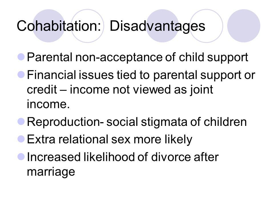 Cohabitation: Disadvantages