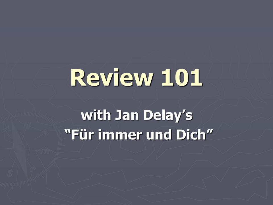 with Jan Delay's Für immer und Dich