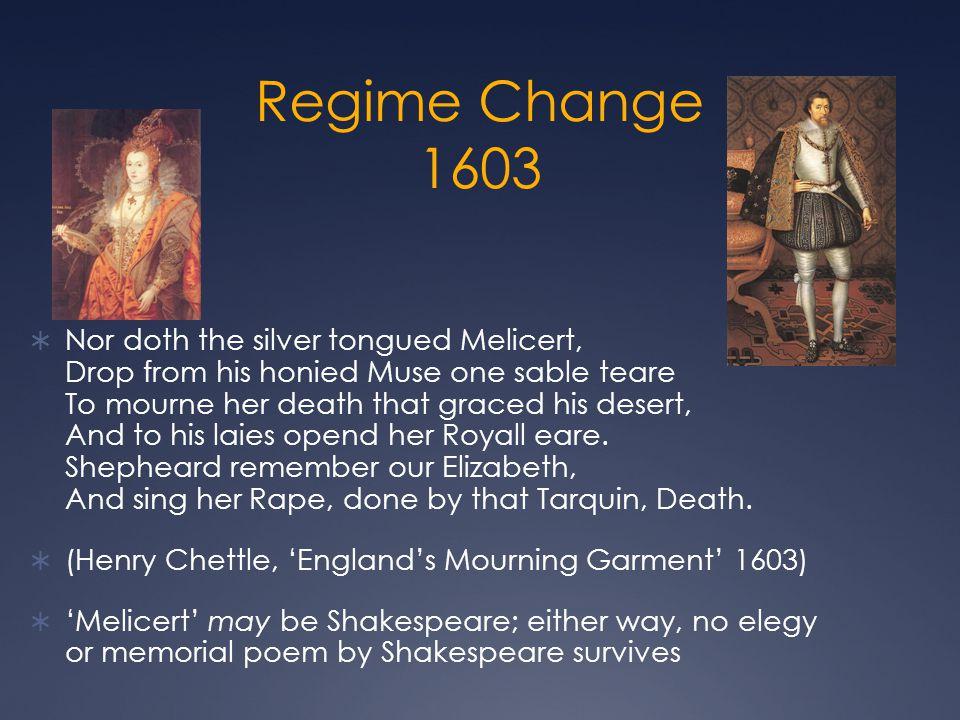 Regime Change 1603