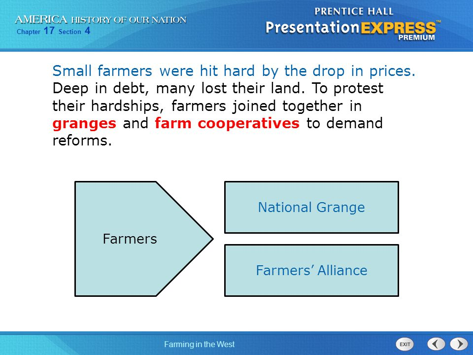 Small farmers were hit hard by the drop in prices