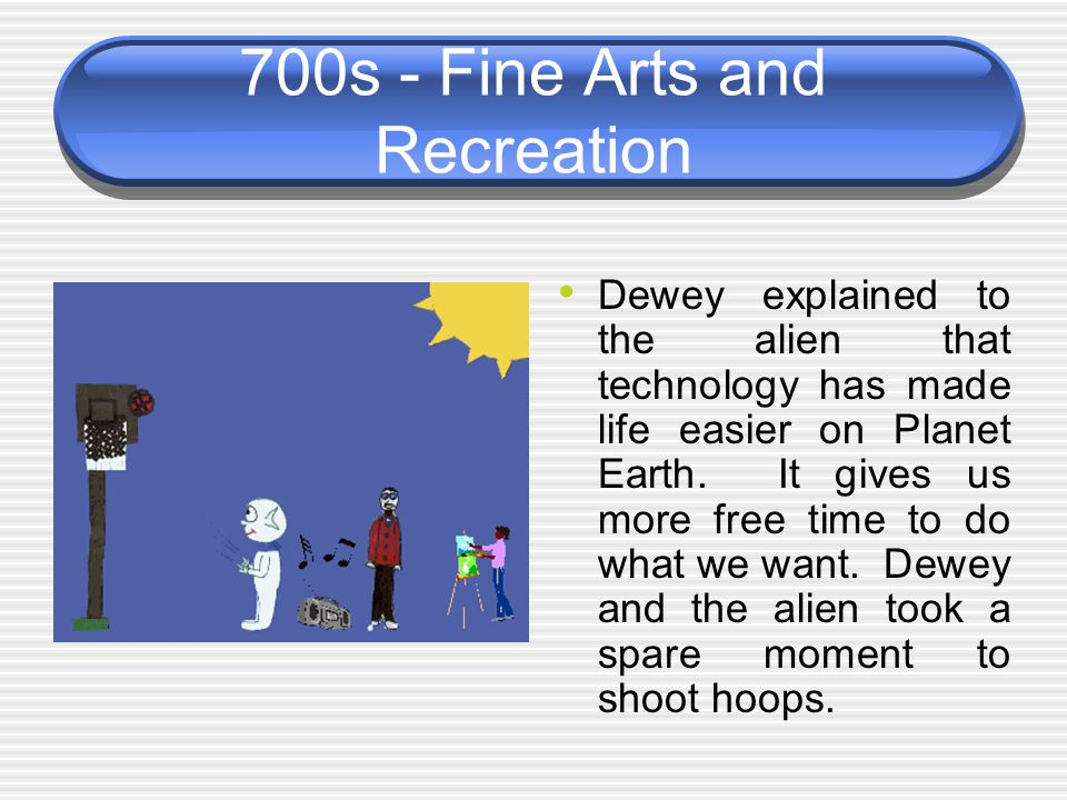 700s - Fine Arts and Recreation