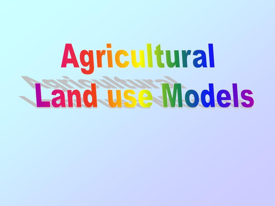 Agricultural Land use Models