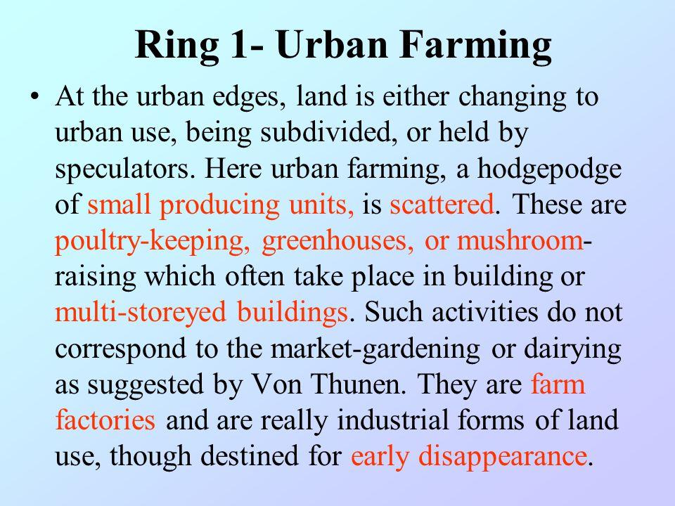 Ring 1- Urban Farming