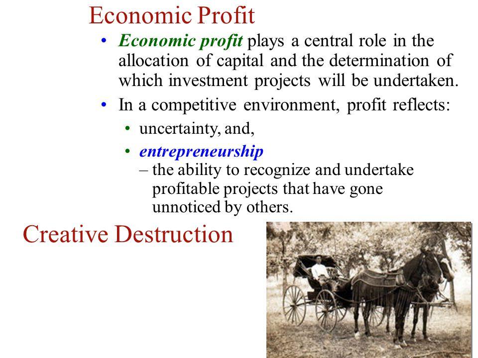Economic Profit Creative Destruction