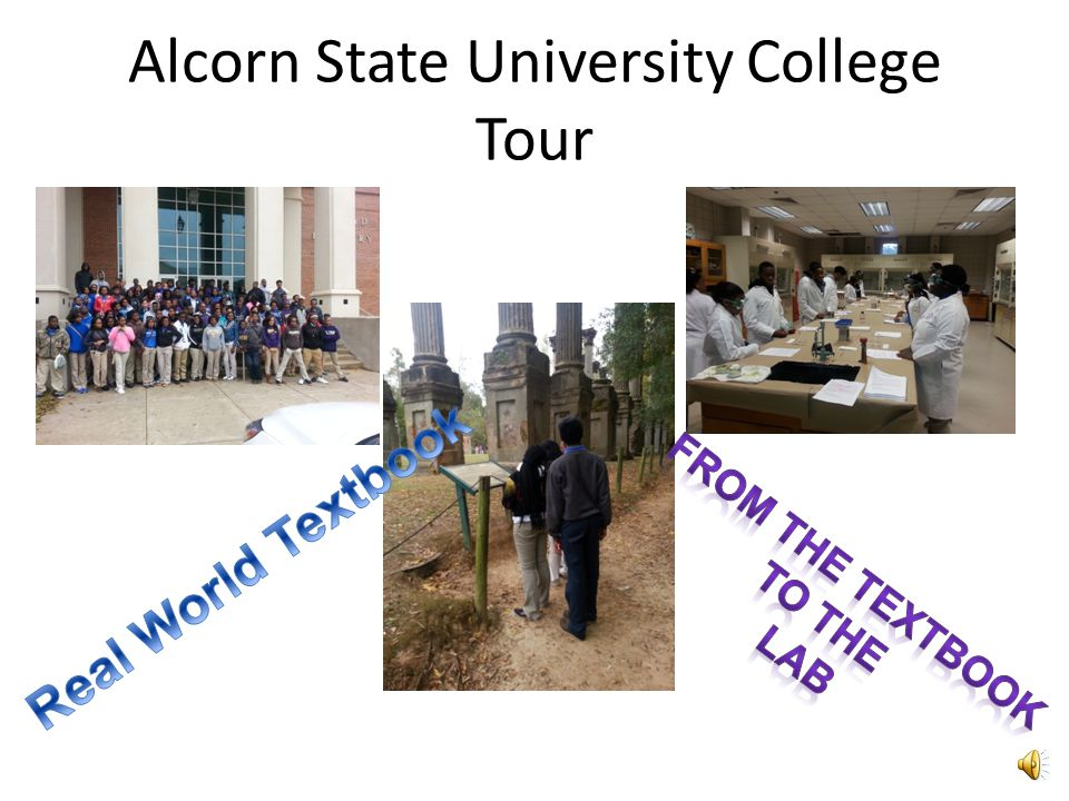 Alcorn State University College Tour