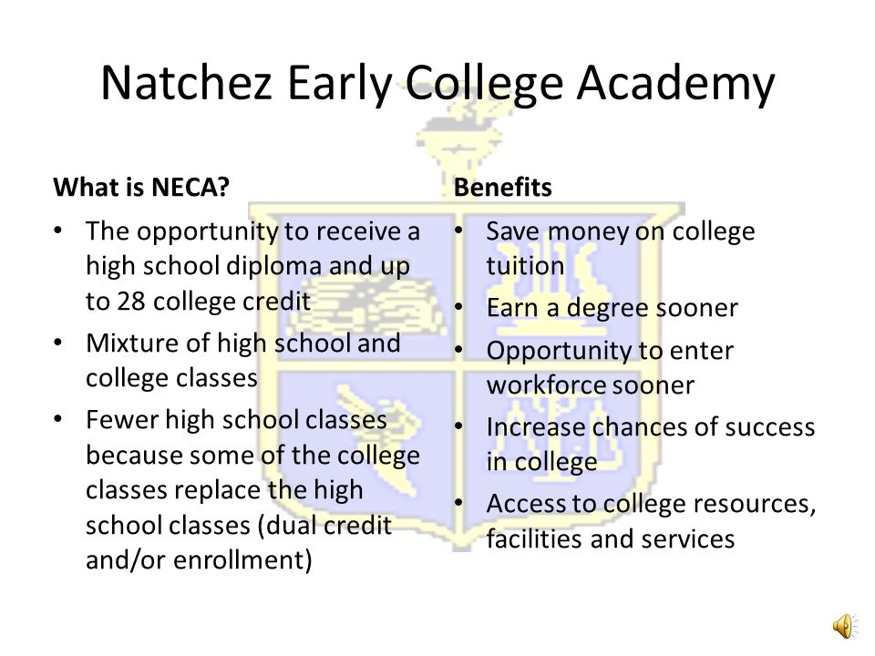 Natchez Early College Academy