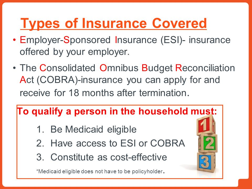 Types of Insurance Covered