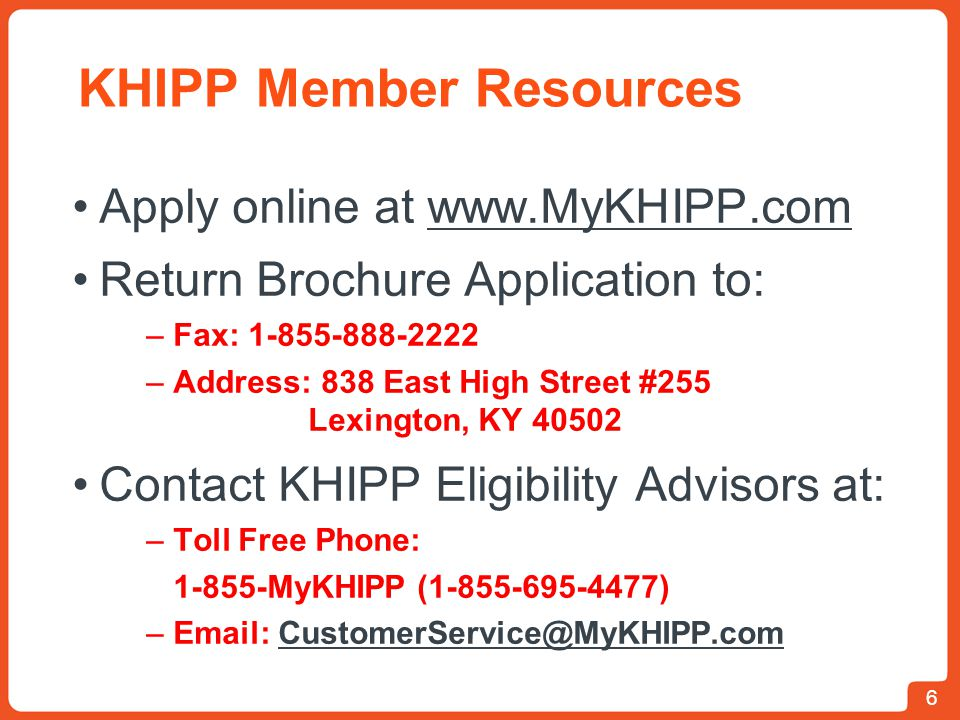 KHIPP Member Resources
