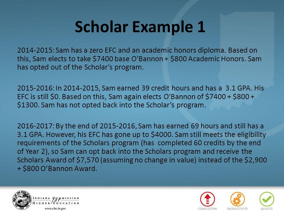 Scholar Example 1