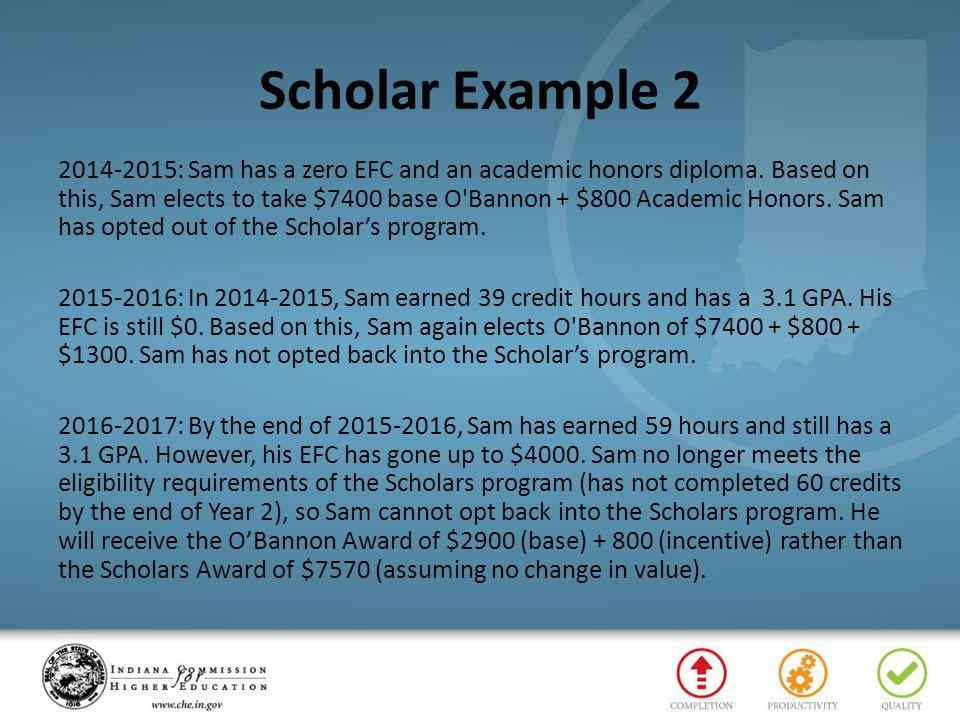 Scholar Example 2