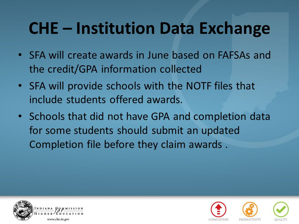 CHE – Institution Data Exchange