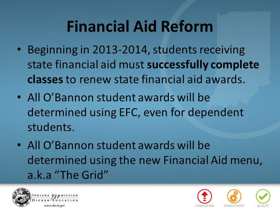 Financial Aid Reform