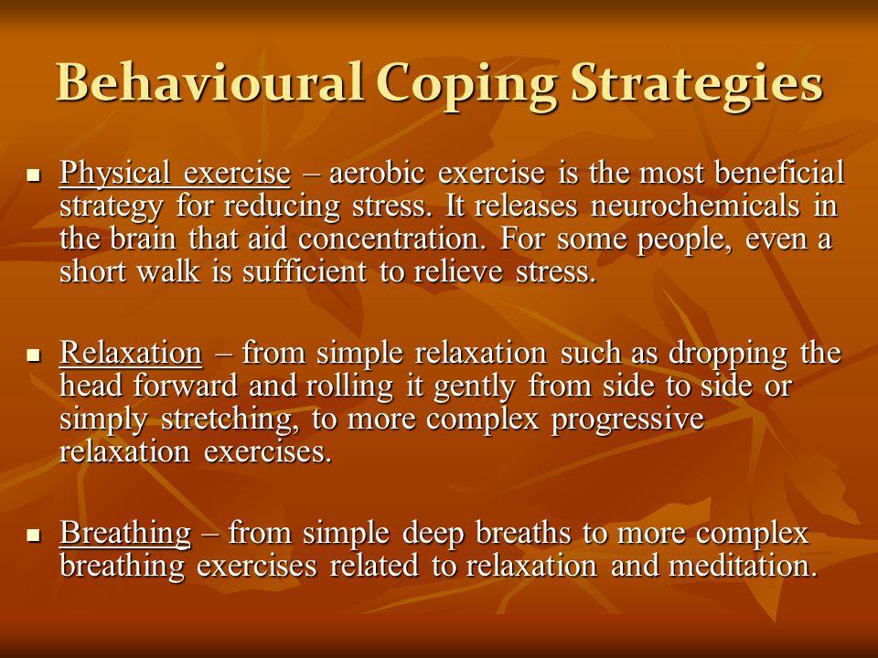 Behavioural Coping Strategies