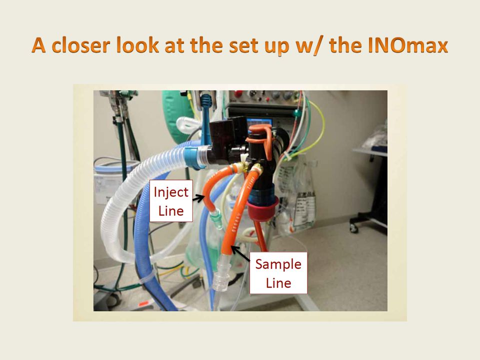 A closer look at the set up w/ the INOmax