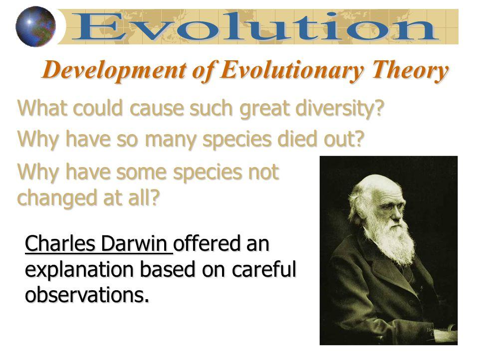 Development of Evolutionary Theory