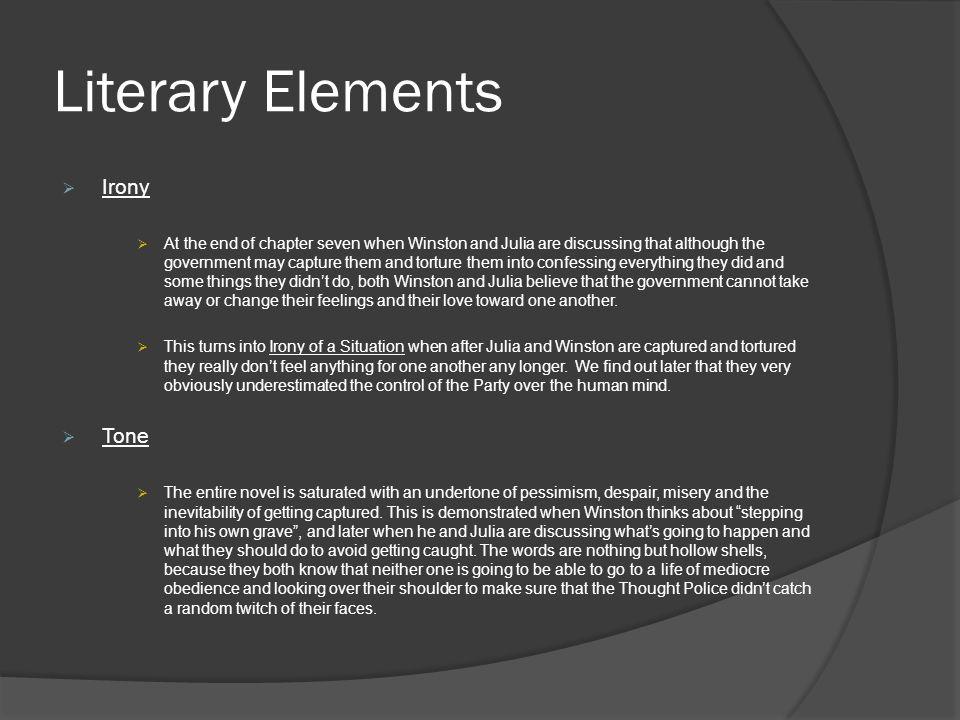 Literary Elements Irony Tone