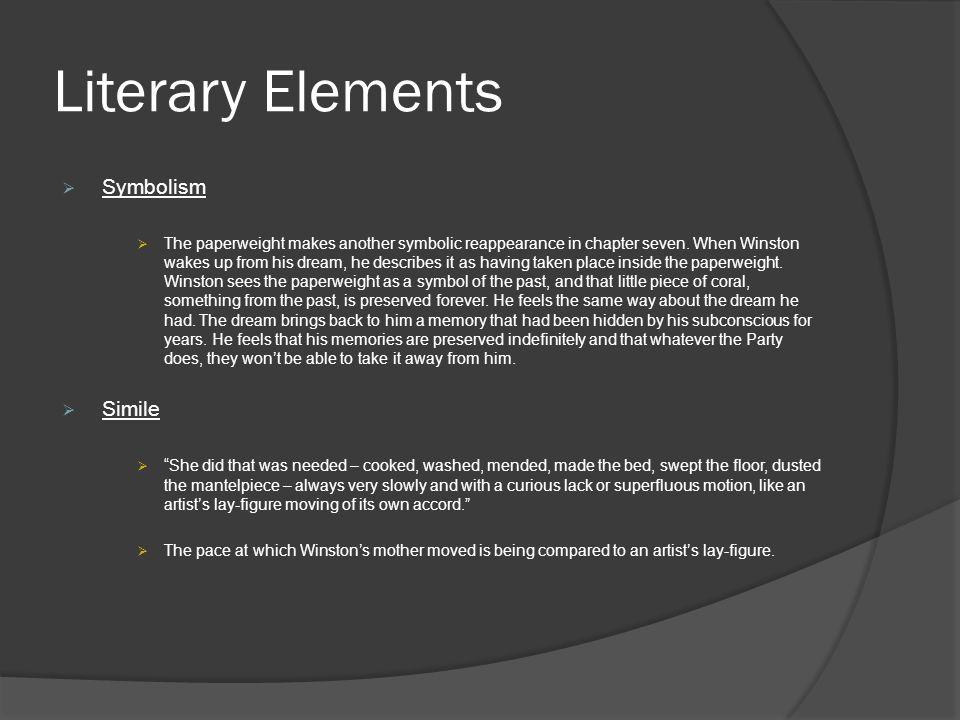 Literary Elements Symbolism Simile