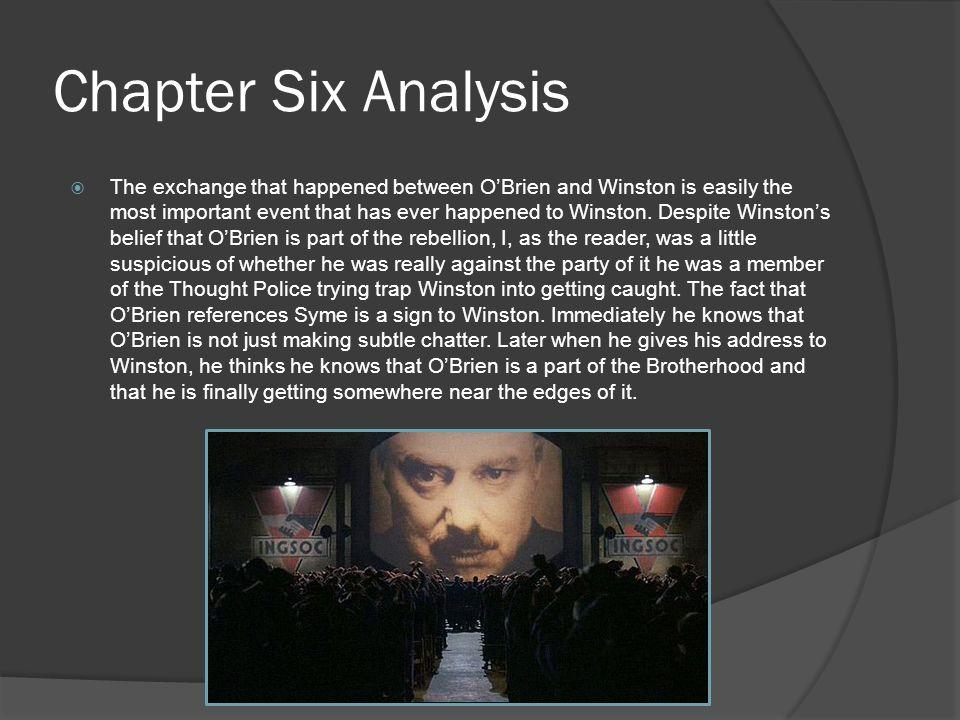 Chapter Six Analysis