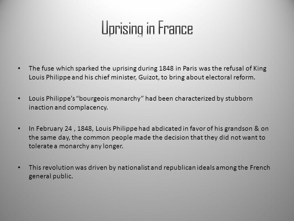 Uprising in France