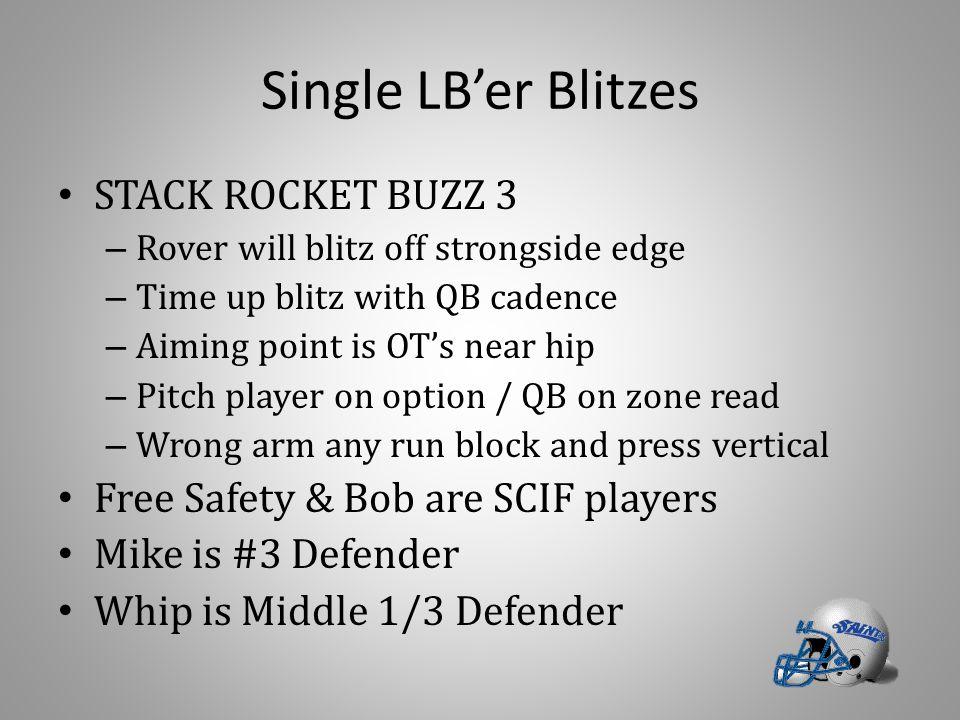 Single LB'er Blitzes STACK ROCKET BUZZ 3