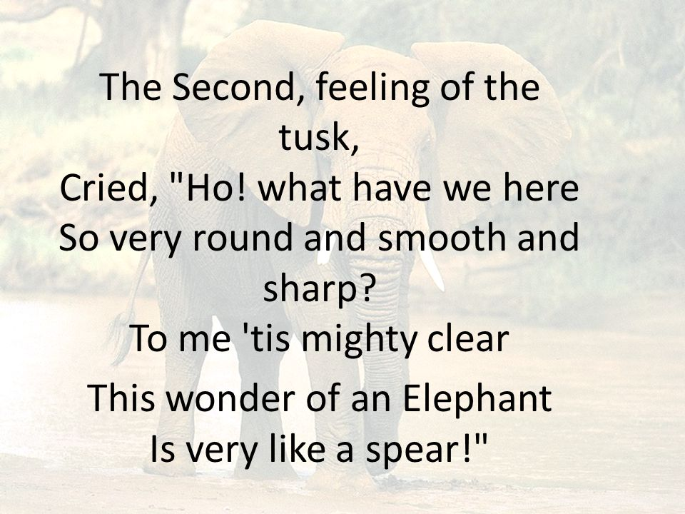 The Second, feeling of the tusk, Cried, Ho