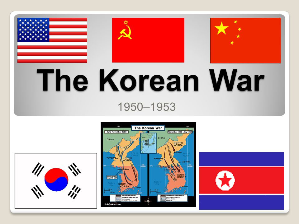 The Korean War 1950–1953