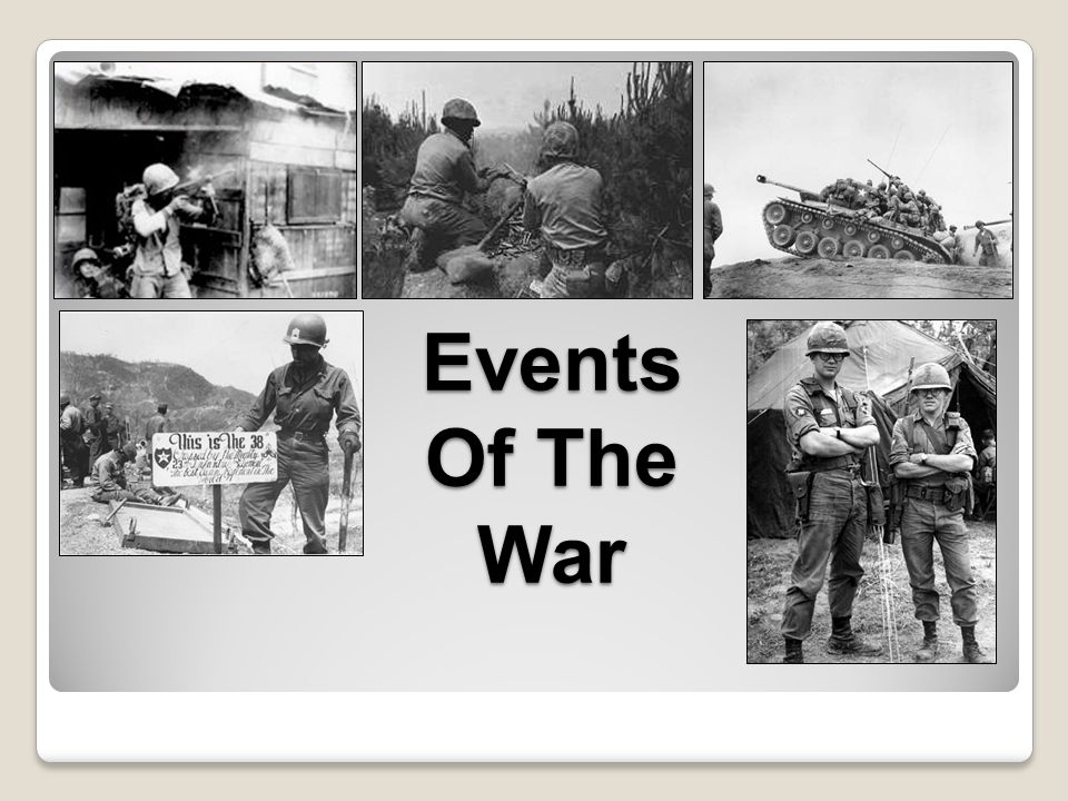 Events Of The War