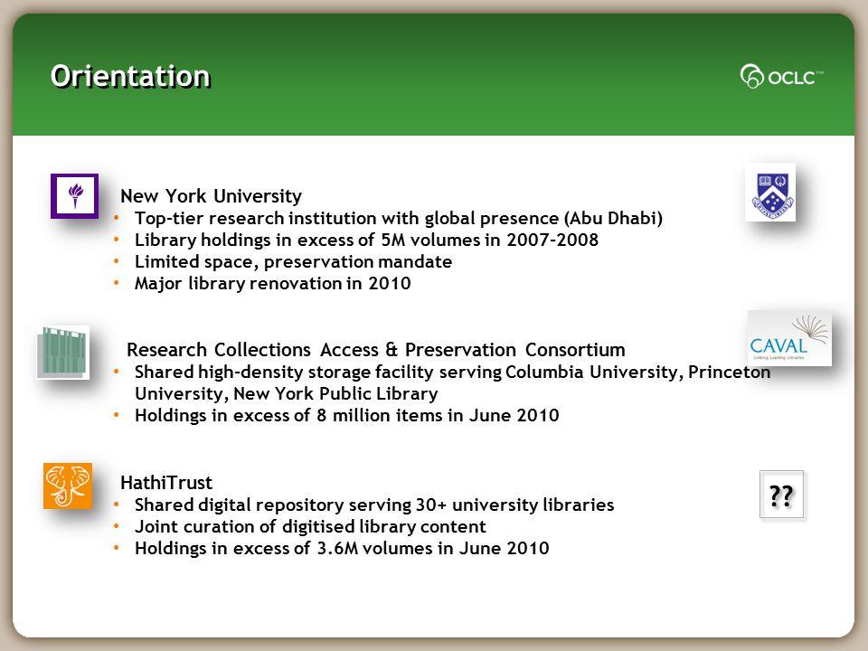 Orientation New York University