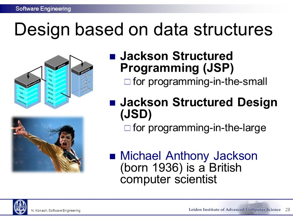 Design based on data structures