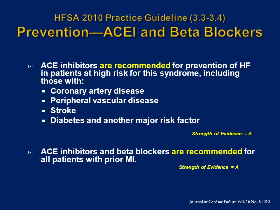 HFSA 2010 Practice Guideline (3. 3-3