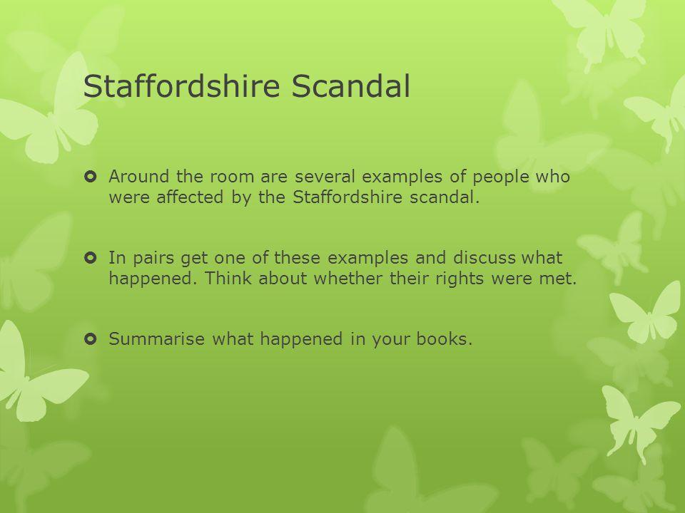Staffordshire Scandal