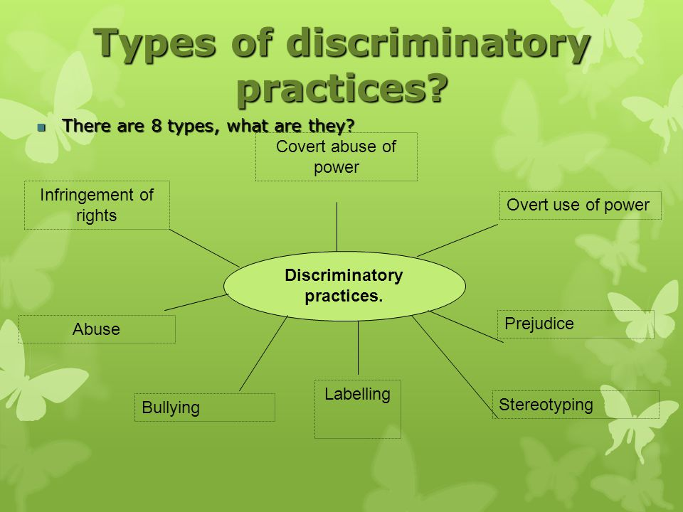 Effects Of Discrimination In Health And Social Care Settings