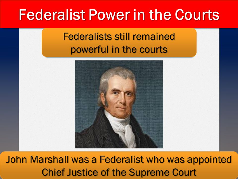 Federalist Power in the Courts